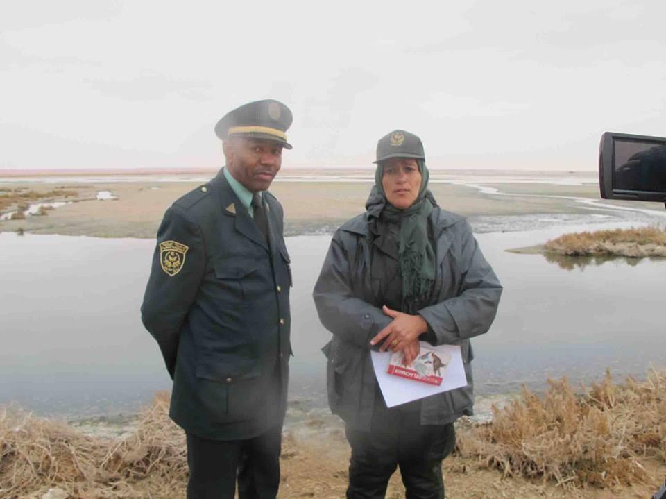تقرير محافظة الغابات حول الرحلة الاستكشافية لسبخة سفيون بورقلة